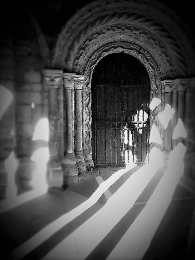 door shadow
